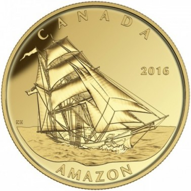 Amazon - Tall Ships Legacy 2016 Proof