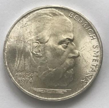 100 Kčs Bedřich Smetana 1974