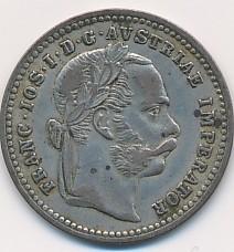 10 krejcar Františka Josefa I. 1872