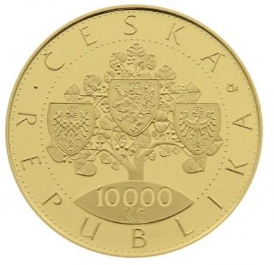 10000 Kč Vznik Československa 2018 Proof