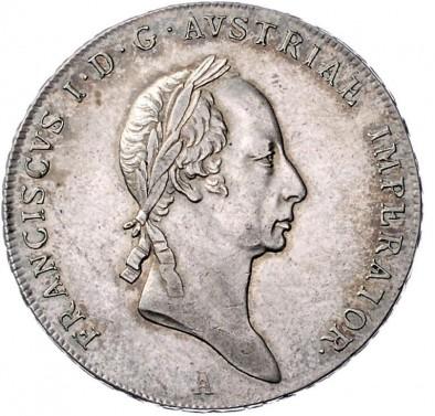 Tolar Františka I. 1828 A