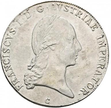 Tolar Františka I. 1819 C č.1