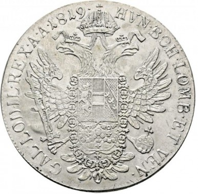 Tolar Františka I. 1819 C č.2