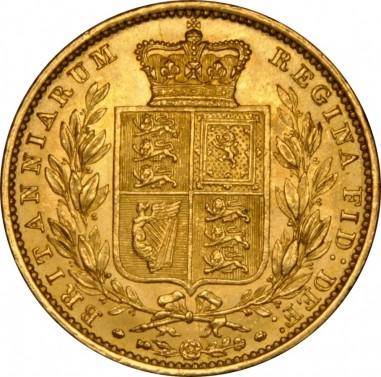 Sovereign královna Viktorie 1853 č.2