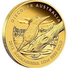 Australská Kokaburra 2012