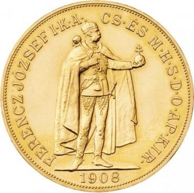 100 koruna FJ I. 1908 Novoražba č.1